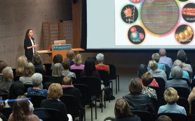 Cancer researcher Diana Hargreaves captivates Salk's women and science event