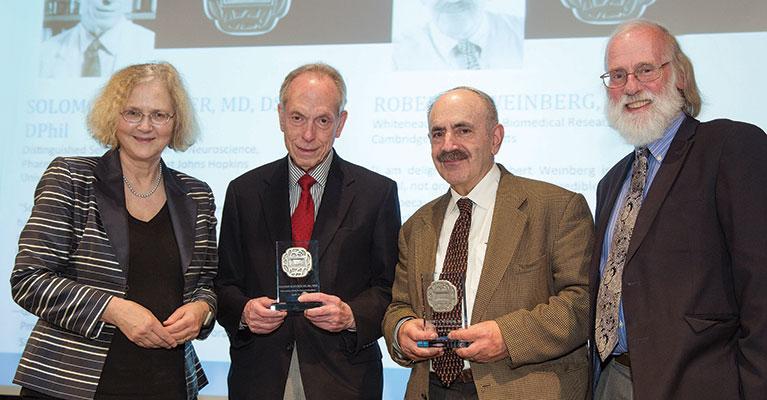Salk Medal Recipients Honored