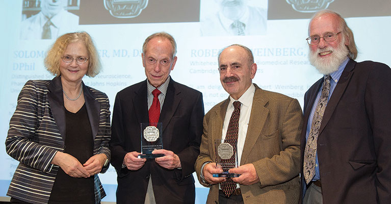 Salk Medal Recipients Honored