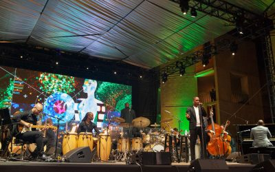 Symphony, Leaslie Odom, Jr. light it up at Concert Under the Stars