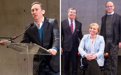 Celebrating Salk's Cancer Center and Clodagh O'Shea