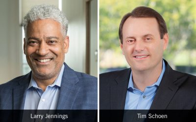 Salk board welcomes new trustees Larry Jennings, Jr., and Timothy Schoen