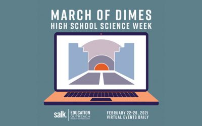 Thousands of students gather virtually for March of Dimes High School Science Week